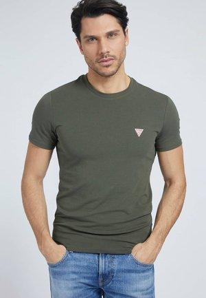 TEE - Basic T-shirt - grün