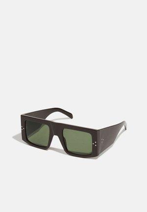 CHUNKY UNISEX - Sunglasses - plain brown