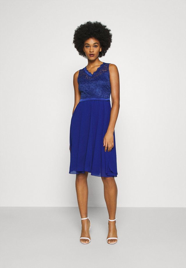 SKYLAR DRESS - Galajurk - electric blue