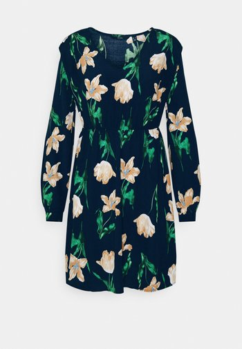 VMBETTY SHORT DRESS - Day dress - navy blazer/betty