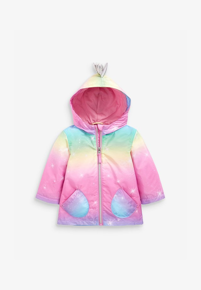 RAINBOW UNICORN C - Vodotěsná bunda - multi-coloured