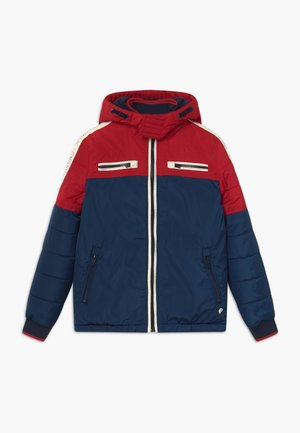 Winter jacket - petrol blue