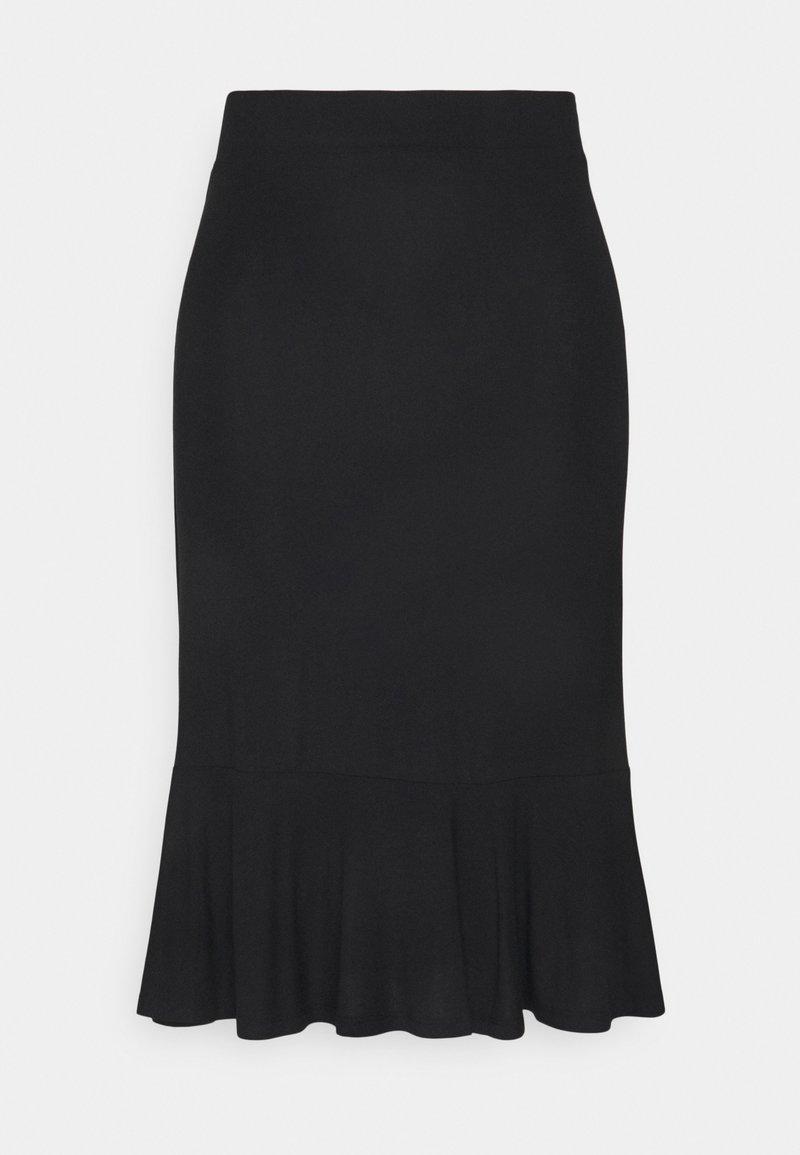 edc by Esprit - MIDI SKIRT - Pencil skirt - black