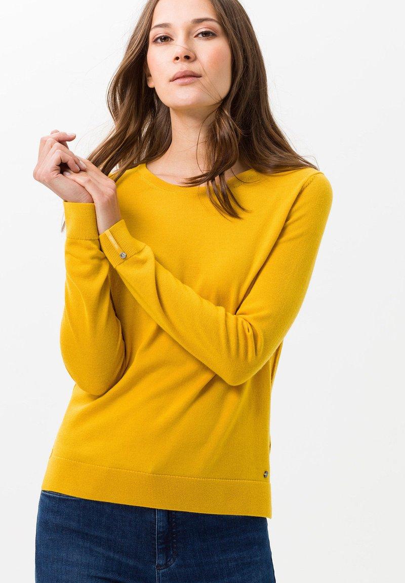 BRAX - STYLE LIZ - Jumper - yellow