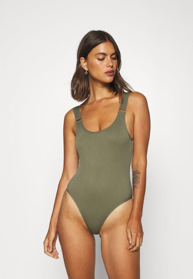 ELLE - SEAMFREE - Body - olive