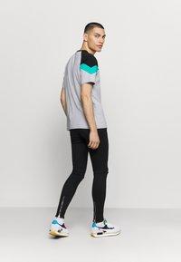 Gabba - ZIP DESTROY  - Jeans Skinny Fit - blak denim - 2