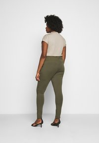 Kaffe Curve - PANTS - Trousers - grape leaf - 2
