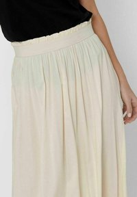 ONLY - Pleated skirt - ecru - 3