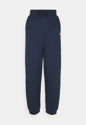 RELAXED BADGE - Tracksuit bottoms - twilight navy