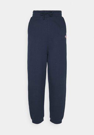 RELAXED BADGE - Pantalon de survêtement - twilight navy