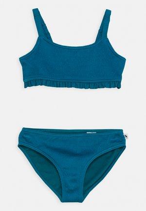 RUCHED KEYHOLE SET - Bikiny - ocean blue