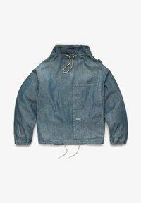 G-Star - LONG SLEEVE MOCK NECK  - Summer jacket - antic faded aegean blue painted - 4