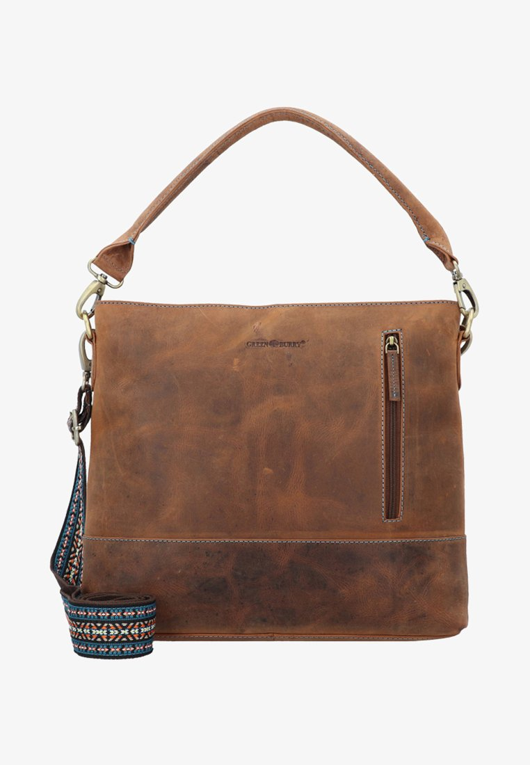 Greenburry - VINTAGE SANTANA - Handtasche - brown