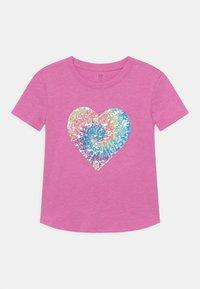 GAP - GIRL FLIPPY - Print T-shirt - budding lilac - 0