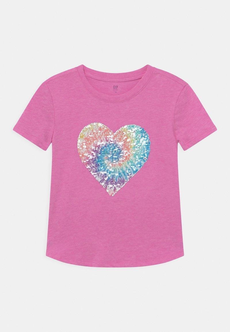 GAP - GIRL FLIPPY - Print T-shirt - budding lilac