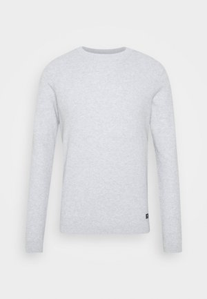 BRICK WALL STRUCTURE CREWNECK - Svetr - light stone grey