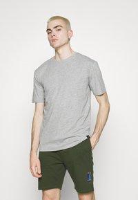 Newport Bay Sailing Club - CORE 3 PACK - T-shirt basic - black/navy/grey marl - 4