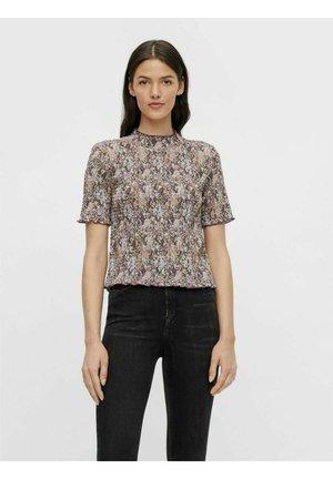 Camiseta estampada - black olive