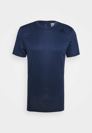 HEAT.RDY TRAINING SLIM SHORT SLEEVE TEE - Print T-shirt - tech indigo