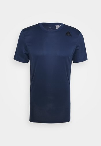 HEAT.RDY TRAINING SLIM SHORT SLEEVE TEE - T-shirts print - tech indigo