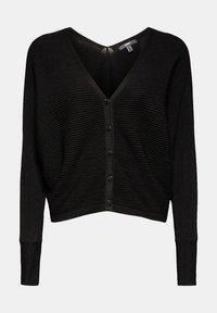 Esprit Collection - OPEN CARDI - Cardigan - black - 7