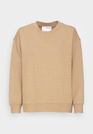SLFSTASIE LS SWEATS - Sweatshirts - kelp