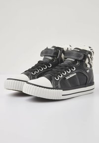 British Knights - ATOLL - High-top trainers - black/zebra - 2