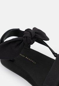 Loeffler Randall - MAISIE - Platform sandals - black - 6