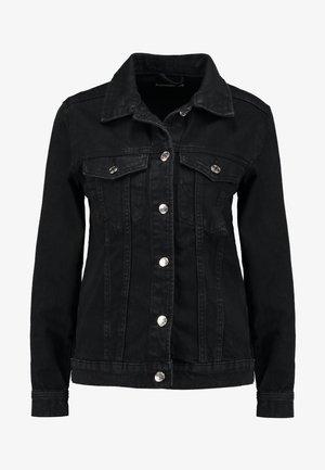 SOLANGE JACKET - Denim jacket - offblack