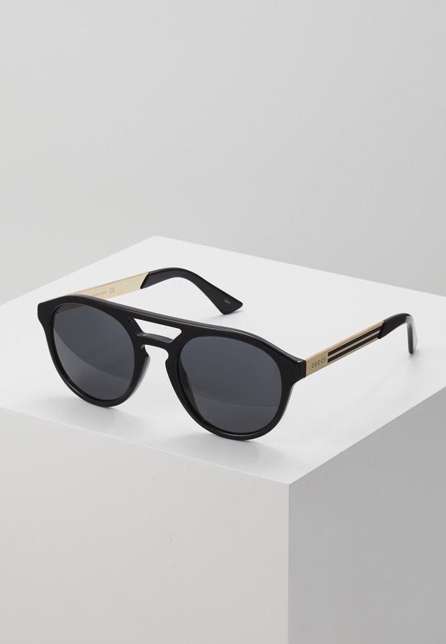 Zonnebril - black/gold-coloured/grey