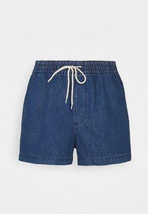 PULL ON - Denim shorts - dark sulu