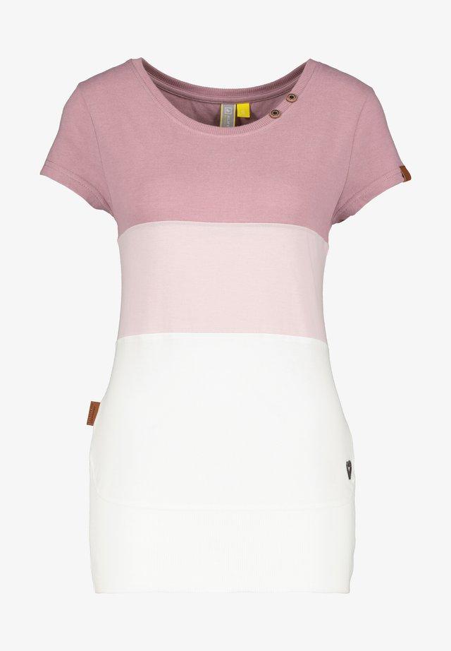 CLEAAK - T-shirt imprimé - plum