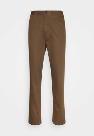 SLHSLIMTAPERED PANTS  - Pantalon classique - teak