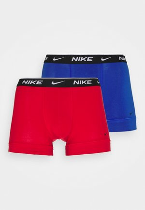 DAY STRETCH TRUNK 2 PACK - Boxerky - uni red/hyper royal