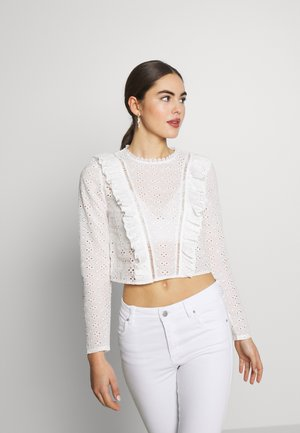 DEAR TOP - Bluser - white