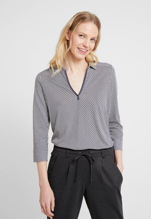 LONG SLEEVE COLLAR BLOUSE - Blůza - combo