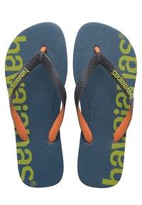 Havaianas - TOP LOGOMANIA HIGHTECH - Pool shoes - blue, green - 1