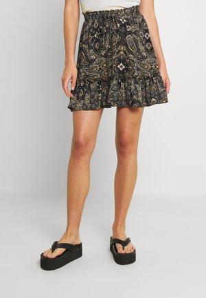 ONLRUTH RUFFLE SKIRT - Mini skirt - kalamata