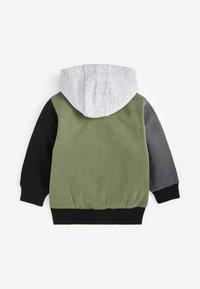 Next - SET - Zip-up hoodie - khaki - 2