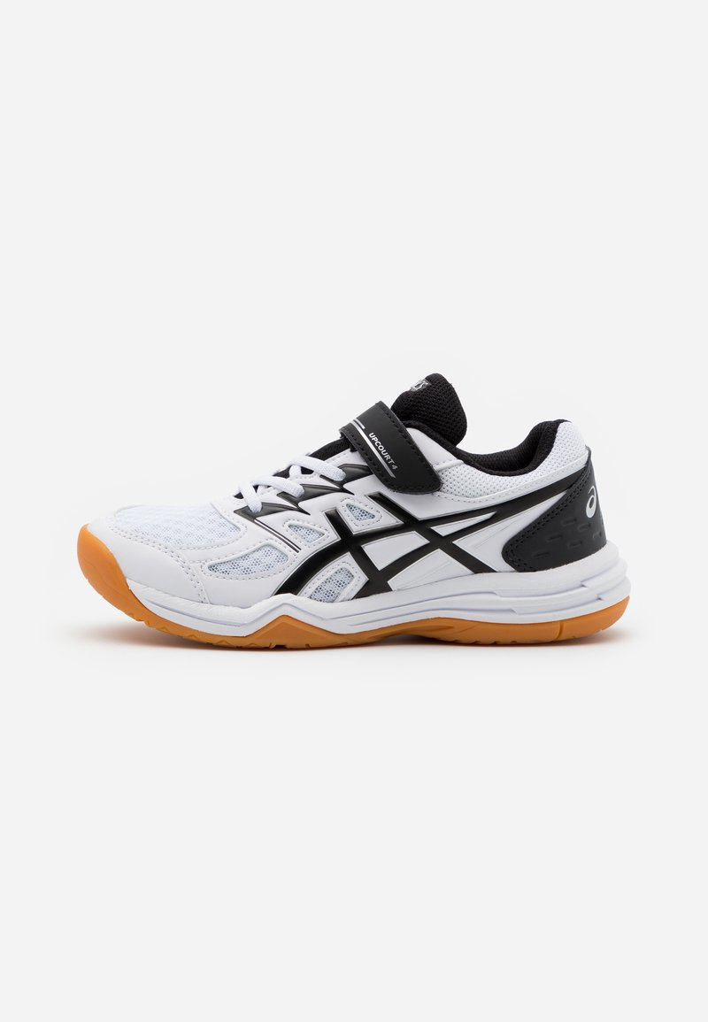 ASICS - UPCOURT UNISEX - Multicourt tennis shoes - white/black