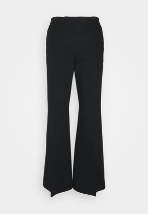 RELAXED WIDE LEG PANT - Trousers - black