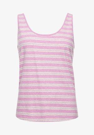 Top - lavender marl stripe