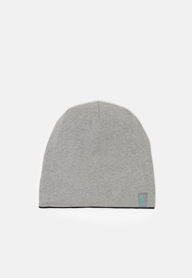 BROOKLYN HAT UNISEX - Beanie - light grey/black
