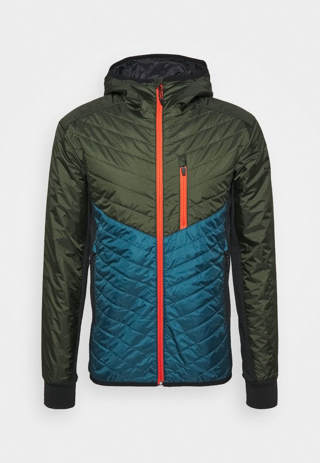 ARETE INSULATION HOOD - Outdoor jacket - atlantic/rosin