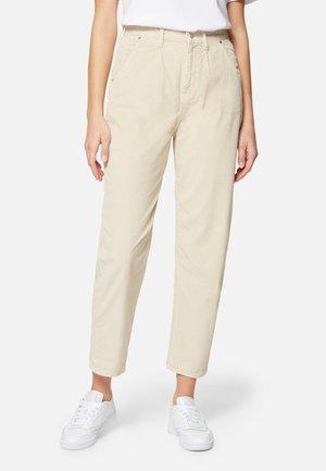 LAURA - Trousers - almond milk cord