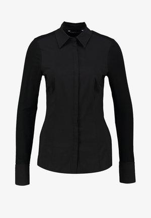 XANI - Button-down blouse - black