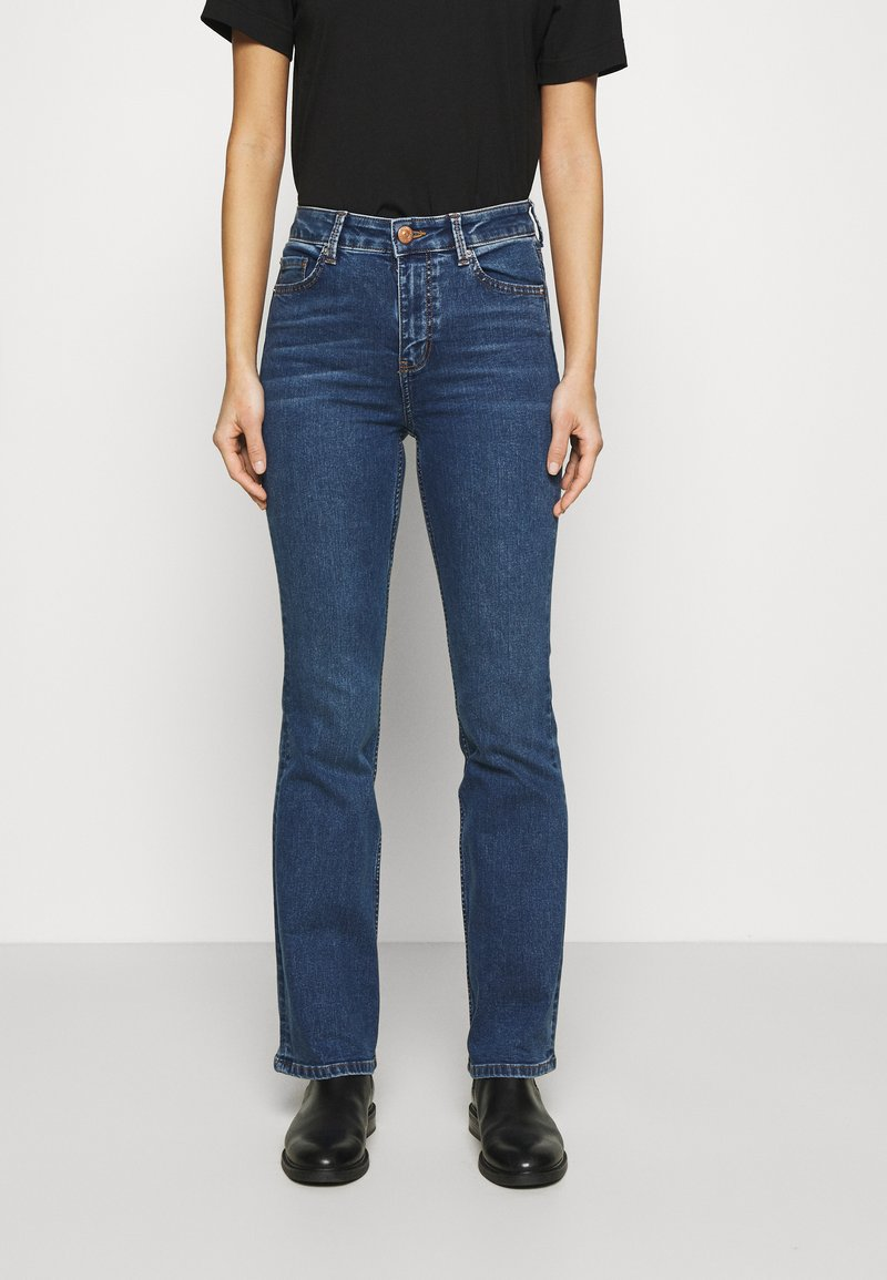 Marks & Spencer London - EVA - Bootcut jeans - blue denim