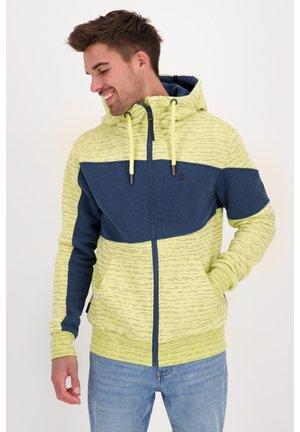 Zip-up hoodie - pear