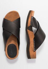 Sanita - TIDA SPORT FLEX  - Clogs - black - 3