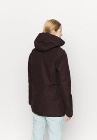 Volcom - FERN INS GORE - Snowboard jacket - black/red - 2